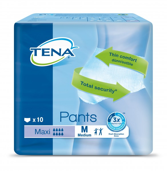 Tena Pants Maxi M, 10 Stück