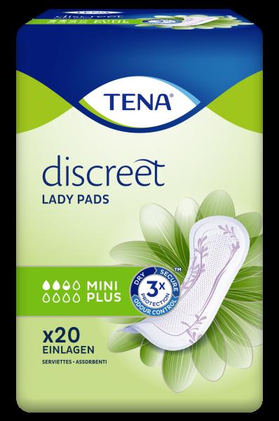 Tena Lady Discreet Mini Plus, 20 Stück