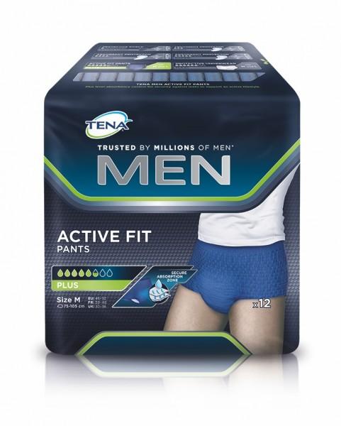 Tena Men Active Fit Pants Plus M, 12 Stück