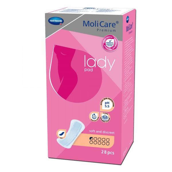 Hartmann MoliCare Premium lady pad 0,5 Tropfen, 28 Stück