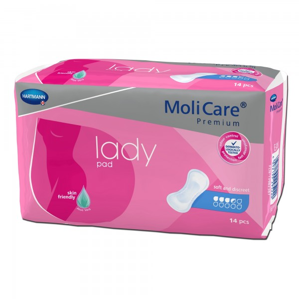 Hartmann MoliCare Premium lady pad 3,5 Tropfen, 14 Stück