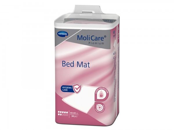Hartmann MoliCare Premium Bed Mat 7 Tropfen 60x60cm, 30 Stück
