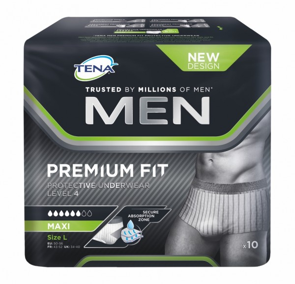 Tena Men Level 4 Protective Underwear Large, 40 Stück