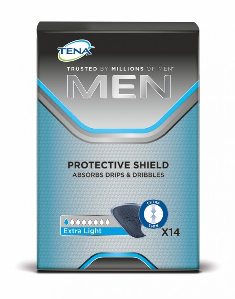Tena Men Protective Shield Extra Light, 14 Stück
