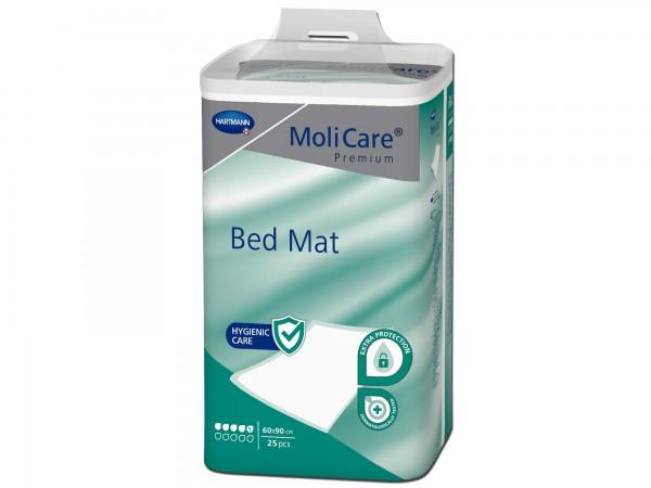 Hartmann MoliCare Premium Bed Mat 5 Tropfen 60x90cm, 25 Stück