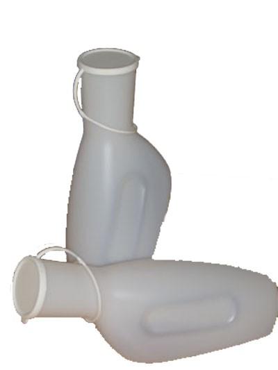 Urinflasche für Männer mit Deckel, 1 Stück