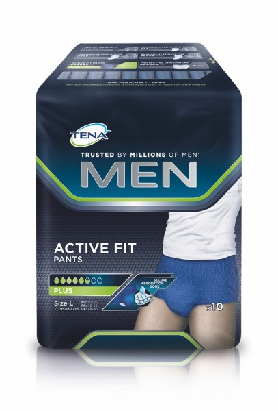 Tena Men Active Fit Pants Plus L, 10 Stück