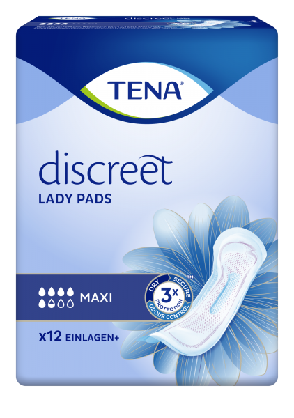 Tena Lady Discreet Maxi, 144 Stück