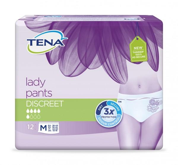 Tena Lady Pants Discreet M, 72 Stück