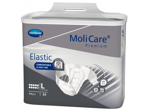 Hartmann MoliCare Premium Elastic 10 Tropfen L, 14 Stück