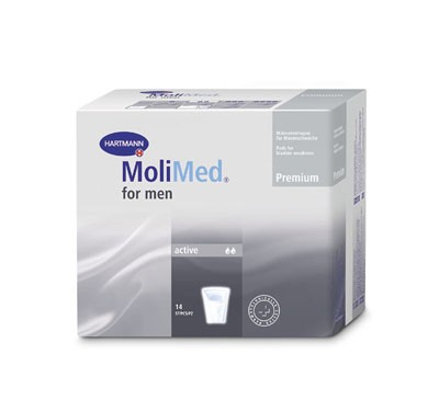 Hartmann MoliMed For Men Active, 168 Stück