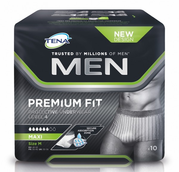 Tena Men Level 4 Protective Underwear M, 48 Stück