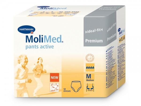 Hartmann MoliMed Pants active M, 12 Stück