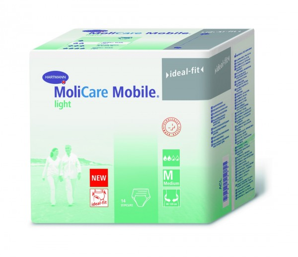 Hartmann MoliCare Mobile Light M, 14 Stück