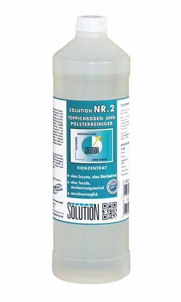 Solution Nr. 2 Teppichboden- & Polsterreiniger, 1 Liter